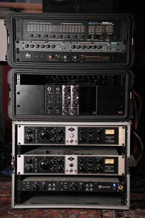 Some Photos from the Soho studio:  www.sohorecording.com