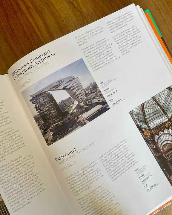 """""""Architizer: The World's Best Architecture"""" is now available. It is a hardbound collection of the 2020 A+Award winners. ..."""
