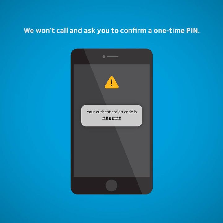 Stay alert. Spot and avoid scams. This post can help: http://go.att.com/76838fcd