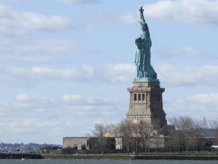 We took a field trip to learn about Ellis Island and webcast it to thousands of classrooms around the country.