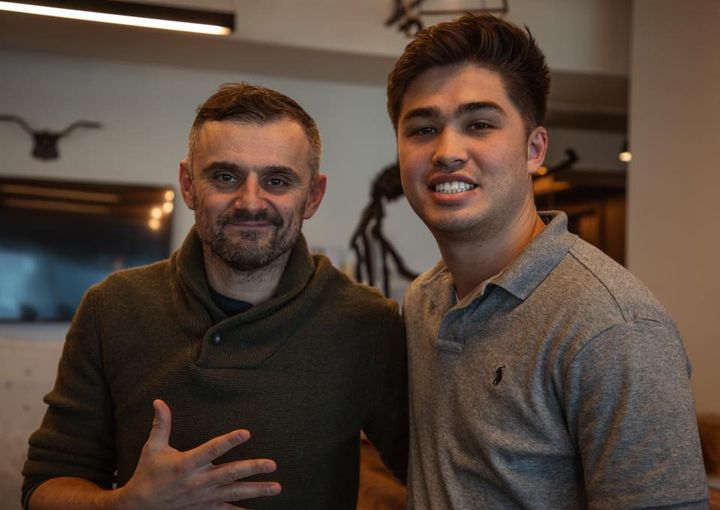 Got to hangout and chat with the legend Gary Vaynerchuk!👌🏻