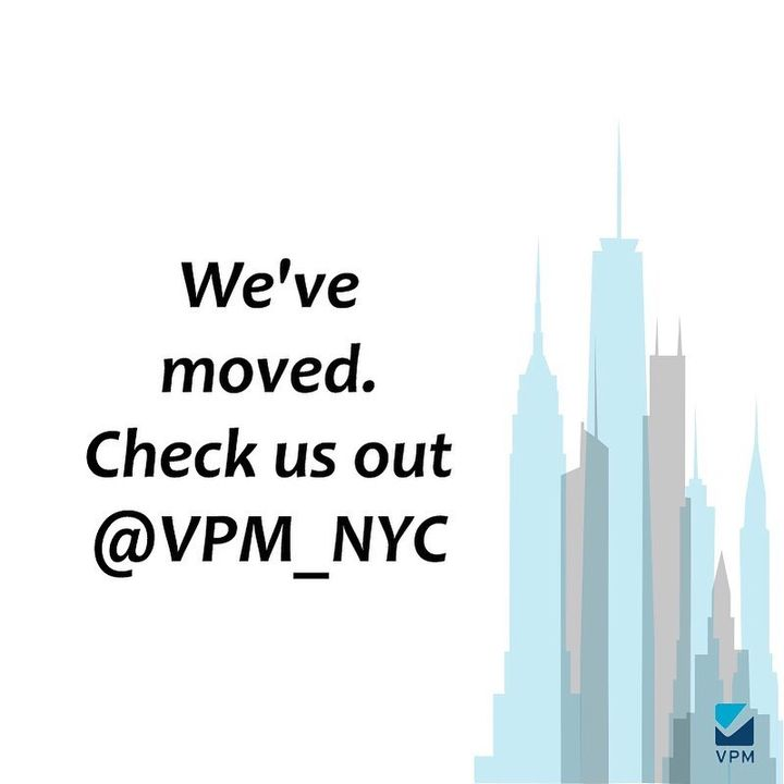 Great things are happening @vpm_nyc