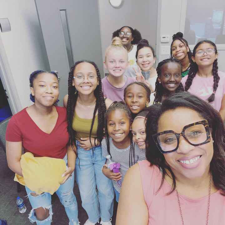 I love these ladies. I enjoyed teaching the vocal workshop @victoryatl. They have heart to serve and amazing talent.  We...