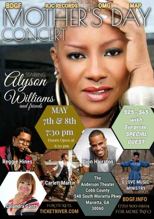 Join the First Lady of Def Jam on Monday, May 7th and Tuesday, May 8th at 7:30pm. With Reggie Hines, D Love Music Minist...