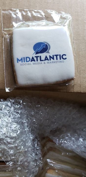 THIS is cool. A company I partner with just sent me cookies with my logo on the icing. LOVE IT! Definitely doing this fo...