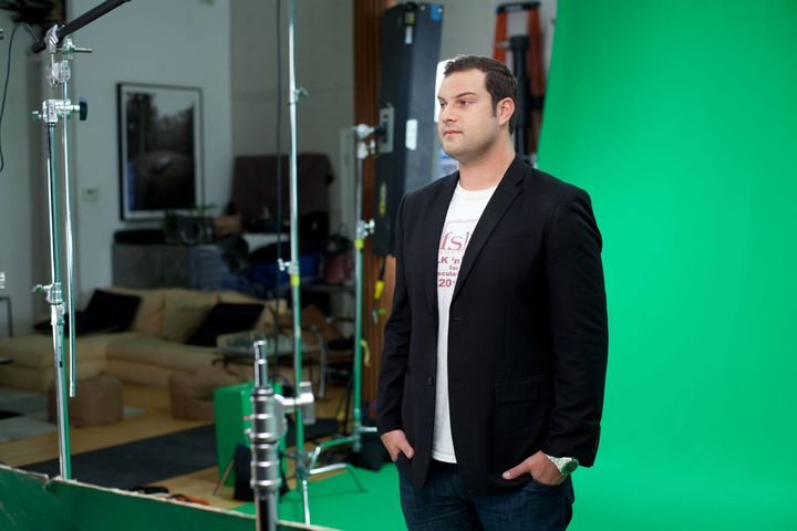Workin' another gig with Max Adler (one of the stasr of Glee)  Michale Gonzalez, Lou Blackmon Cloe Cameron and RJ.Yenese...