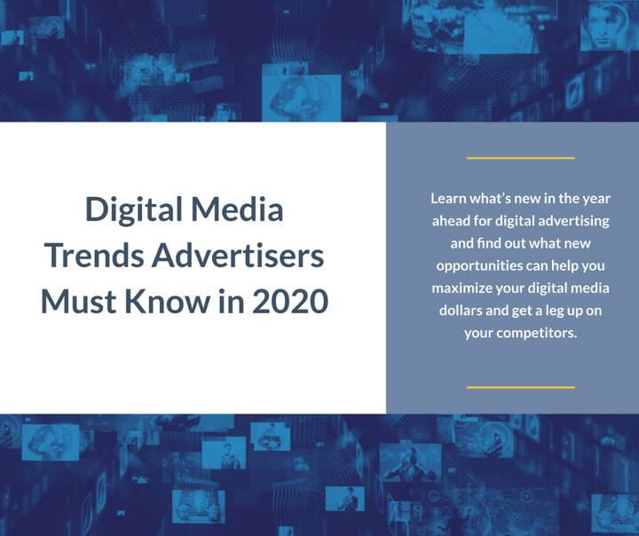 Here are the top  trends and that will drive digital advertising in 2020. http://bit.ly/2Saw0nW