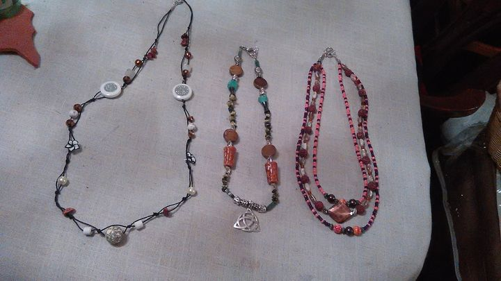 all hand made ,made with love . By Sister Bibi hands