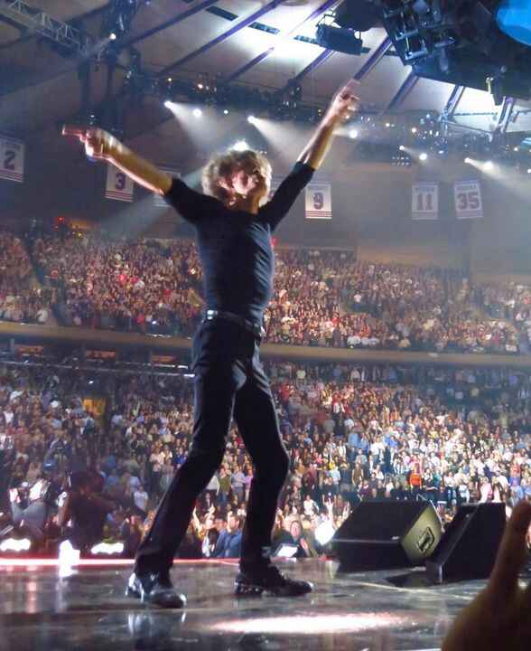 A flashback of Mick Jagger performing at the 12.12.12 concert at Madison Square Garden. That was a fun gig, and the Ston...