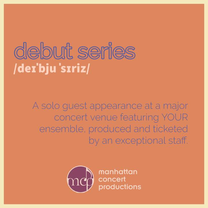 WE'RE BACK with another installment in #DefiningMCP! This week we highlight our popular #DebutSeries: your ensemble's op...