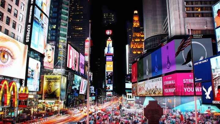 When can we see Times Square like this again? 🗽💪🇺🇸 #nystrong #newyorkstrong #followmeny #nyc #newyork #미국 #뉴욕 #korean #f...