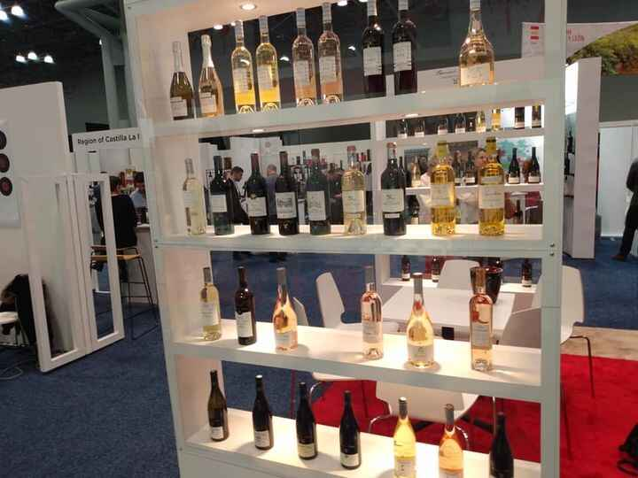 Visiting VineExpo in NYC. Amazing collection of world class wined.