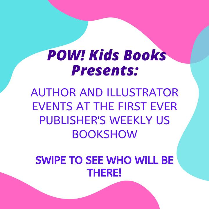 Here's the exciting lineup of writers and illustrators for tomorrow's Publishers Weekly Book Show. We're very excited fo...