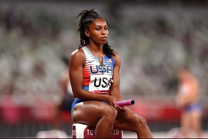 Shout out to @_jaiioliver track and field sprinter who has been to the Olympics not once but twice. Since the 2020 Olymp...