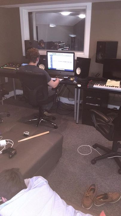 Just another day in the studio!