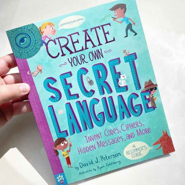 Just a few more days until CREATE YOUR OWN SECRET LANGUAGE is out in the world! 👀 From simple cyphers to entirely new al...