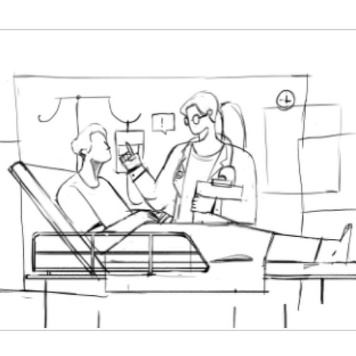 New work: Before and after.  Our storyboard illustrations help our clients understand our creative vision before we star...