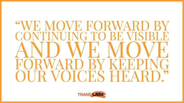 """""""We move forward by continuing to be visible and we move forward by keeping our voices heard.""""  Imara Jones host of #The..."""