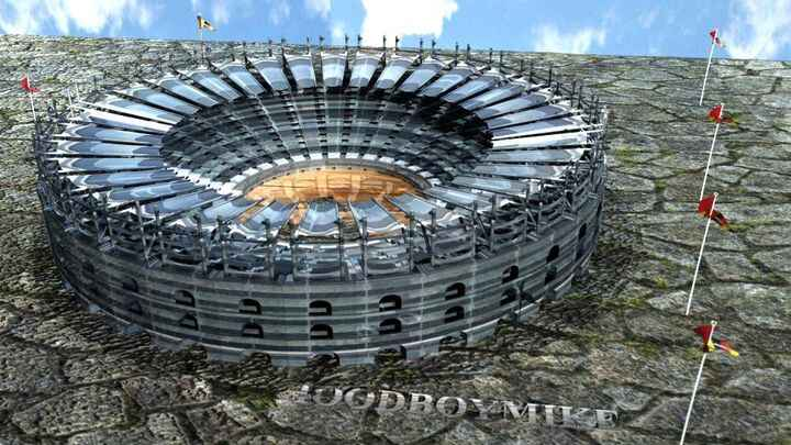 check out this arena we made