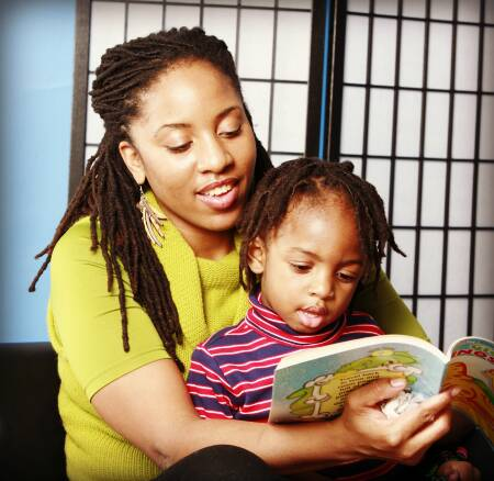 Did a parent read to you growing up?