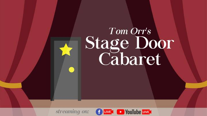 I know, I promised you a show, and IT'S ON!  Tonight, Monday April 26 at 9:00 PM, it's Tom Orr's Stage Door Cabaret, a s...