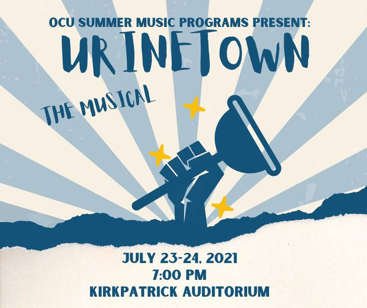 Our 2021 Summer Music Programs wrap up this weekend with two performances of Urinetown!