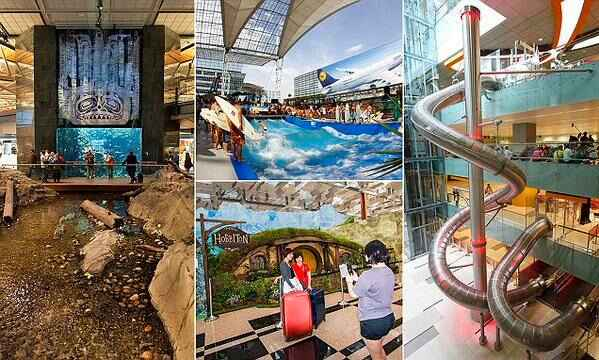 The best airports in the world revealed, via MailOnline Travel > http://buff.ly/1Wf0Plu   #Travel #Airports