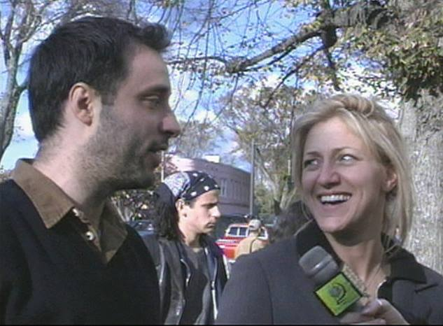 Look who was interviewed by Show Your Shorts back in 1999! #EdieFalco and Eric Mendelsohn.    (with Doug LeClaire)