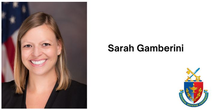 Sarah Jacobs Gamberini is a Policy Fellow at the National Defense University (NDU) Center for the Study of Weapons of Ma...