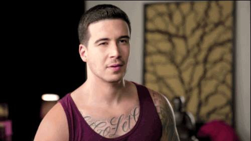 Join us for one last party with @VINNYGUADAGNINO! 8 PM tonight at @copacabananyc! #jerseyshore #MTV #NYC