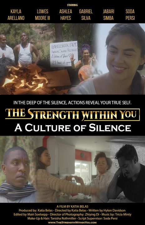 """One more win for the last """"The Strength Within You"""" film """"A Culture of Silence"""". Congratulations cast and crew!! #shortf..."""