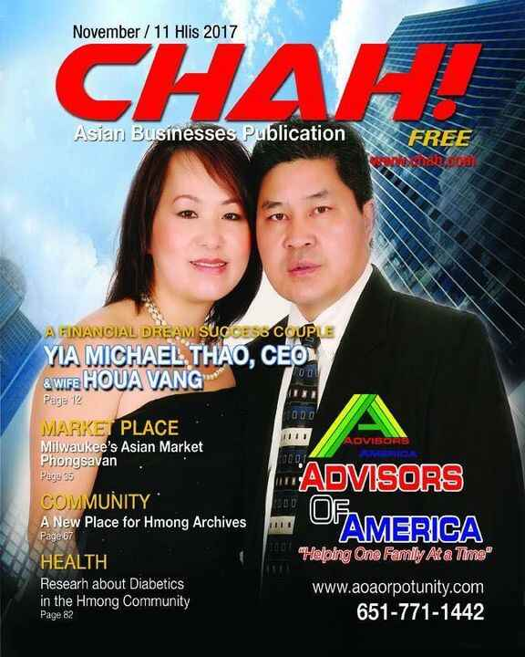 WE ARE CHAH!Chah! is Asian Business Publication for businesses  in  Wisconsin & Minnesota with 100 pages with high quali...