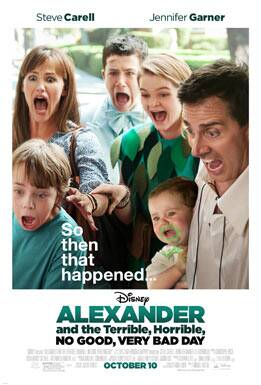 """A hilarious new trailer for """"Alexander and the Terrible, Horrible, No Good, Very Bad Day"""" is out."""