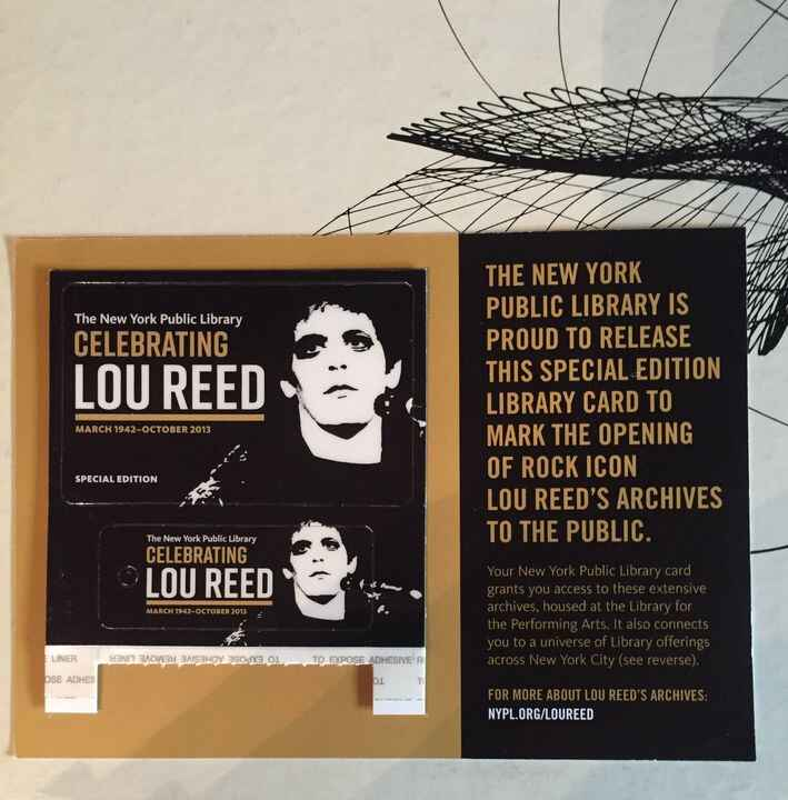 Mars is so happy to have digitized the audio for the Lou Reed Archive which is now available for listening and viewing a...