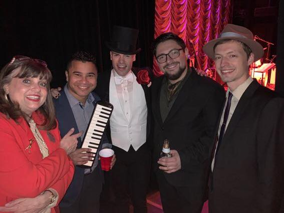 @cunio4 @LoganEvanThomas @MikeChisnell  My view from backstage @WichitaOrpheum with @PMJofficial amazing voices  great s...