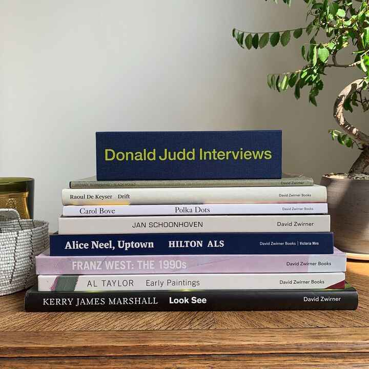 With 20% off all #DavidZwirnerBooks publications, the gallery can be at your doorstep. Just use the code STAYHOME at che...