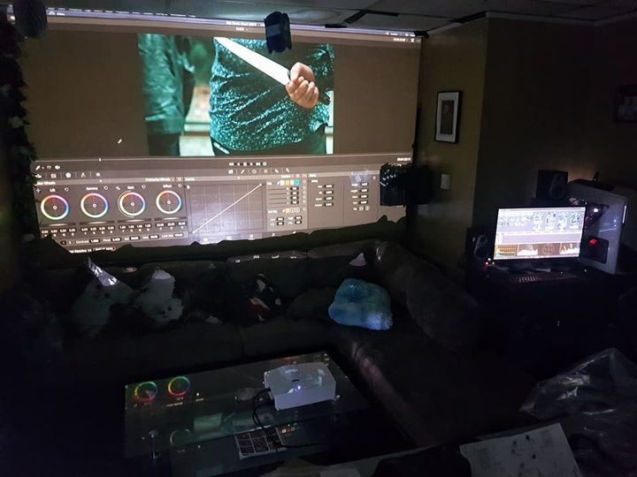 Color grading has never been this fun in our studio. We are also starting to do Live Projection for events. Don't miss t...