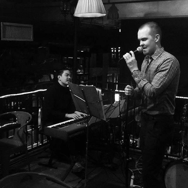 @sethweavermusic and @jazztist at Addicted East Tones last Sunday! This week Julphan and Kengchakaj will be here from 7-...