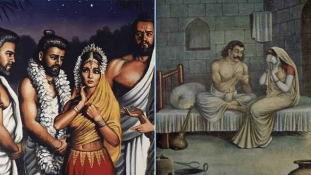 Have you ever wondered how did Draupadi manage s3x life with her five husbands?