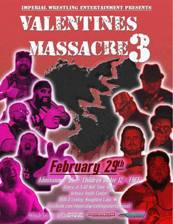 COMING IN FEBRUARY!!!!! Don't miss it! The BEST wrestling!