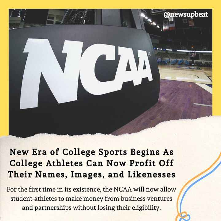 After nearly a decade of legal and public pressure, students are now able to make money from their likenesses, images, a...