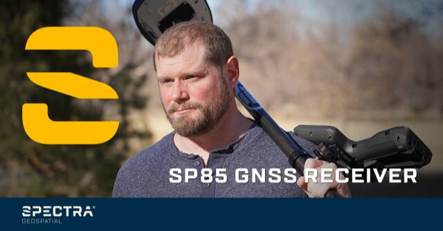 """The SP85 and its 600-channel """"7G"""" chipset helps you stay connected everywhere you survey. http://bit.ly/spectrafb2"""