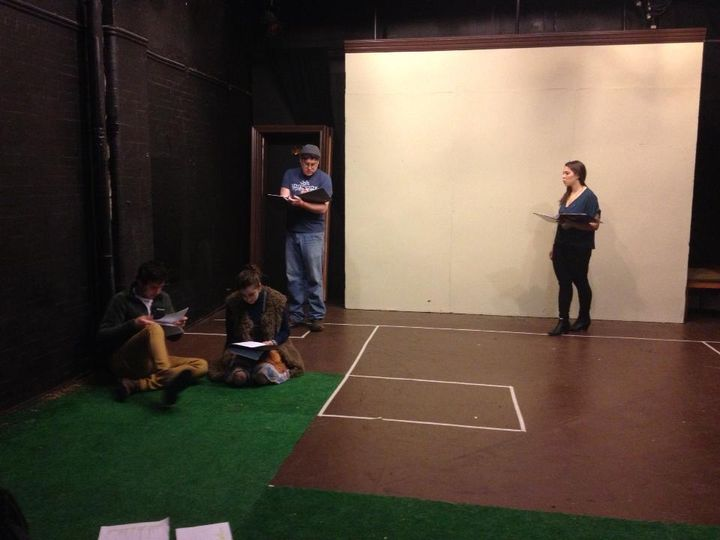 Things are shaping up nicely in the rehearsal room !! Get your tickets now !!