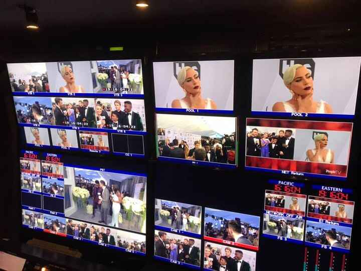Another successful production for the SAG Awards pre show tonight.This was a #MultiCamera and #MultiPath production. Her...