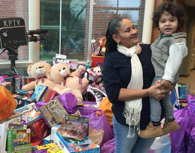 Lupe Juarez used extreme couponing to buy more than 500 toys for the Fox 12 toy drive:
