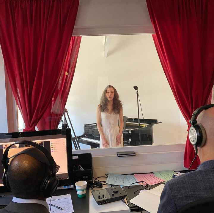 2021 live students exam streaming from Beverly Hills to France #frenchconservatory #beverlyhills #live #jury #2021