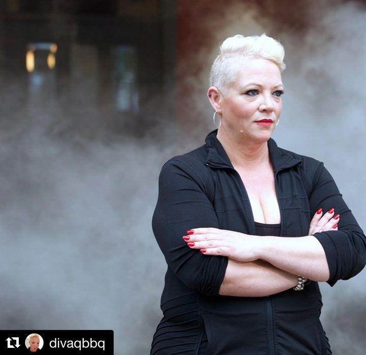 #Repost @divaqbbq・・・This was fun. ..Coming this Sunday to Food Network.. 🔥BBQ Beatdown. ..🔥Premiering Sunday, September ...