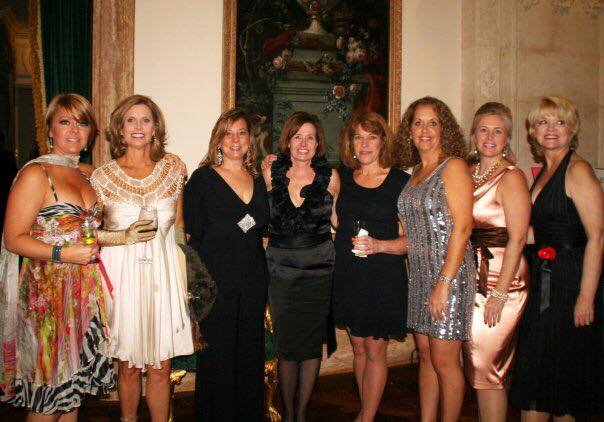 10 years ago..emceeing the Contact/Families in Crisis fundraiser.