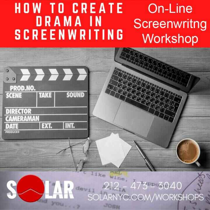 Your Story, Your Voice!Write a Brilliant ScreenplayOn-Line Screenwriting Workshop!www.solarnyc.com/workshopsJoin us! Be ...