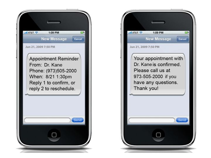 Appointment Reminders For Doctors Our reminders are proven to drastically reduce 'no-shows' and stimulate repeat busines...